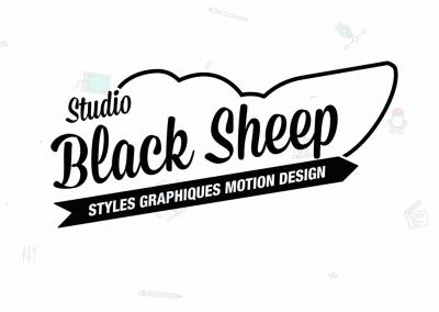 Identité visuelle et sonore – Black Sheep Studio (2019)