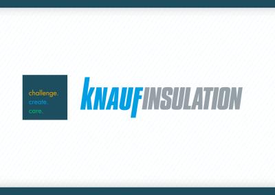 Signature visuelle et sonore – Knauf Insulation